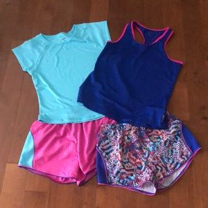 Collection of Reebok athletic wear!